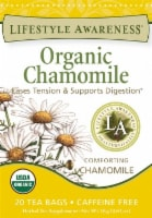 Lifestyle Awareness Organic Chamomile Tea Bags