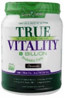 Green Foods True Vitality Chocolate Flavored Plant Protein Shake with DHA