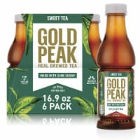 Gold Peak Sweet Black Tea Beverage 6 Count
