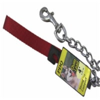 PDQ Silver Chain Lead Steel Dog Leash Small/Medium - Case Of: 1; - Count of: 1
