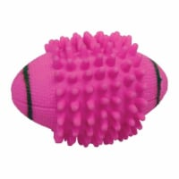 Diggers Vo-Toys Assorted Spike Football Vinyl Dog Toy Medium 1 - Case Of: 1;