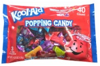 Kool-Aid Tropical Punch Cherry & Grape Popping Candy - 40 ct