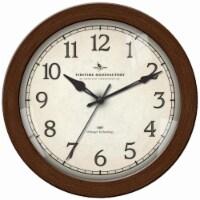 FirsTime Bronze Slim Clock