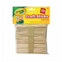 Crayola Natural Craft Sticks - 150 pk