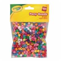 Crayola Pony Beads - Bright - 400 pk