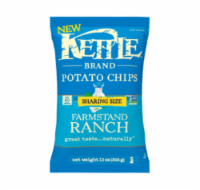 Kettle Brand Farmstand Ranch Potato Chips Sharing Size