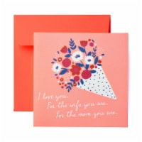 American Greetings Mother's Day Card (Bouquet)