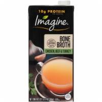 Imagine Chicken Beef & Turkey Bone Broth