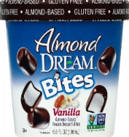 Almond Dream Bites Vanilla Almond-Based Frozen Dessert Bites