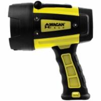 Wagan Tech 4321 Brite-Nite W600 Waterproof LED Spotlight, Black & Yellow - 1