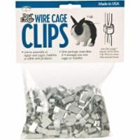 Pet Lodge J-Clip 1 Lb. Metal Wire Cage Clip ACC1 - 1 Lb.