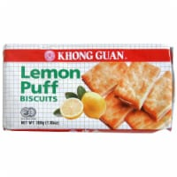 Khong Guan Lemon Puff Biscuits