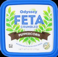 Odyssey Peppercorn Crumbled Feta Cheese