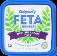 Odyssey Mediterranean Herb Crumbled Feta Cheese