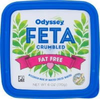 Odyssey Fat Free Crumbled Feta Cheese