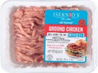 Isernio's Premium Ground Chicken 96% Lean - 1 lb tray