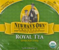 Newman's Own Royal Organic Green Tea - 40 Count