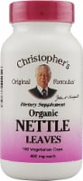 Christopher's Nettle Leaves Vegetarian Caps 400mg