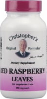 Christopher's Red Raspberry Leaves Vegetarian Caps 450mg