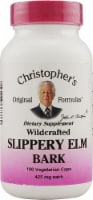 Christopher's Slippery Elm Bark Vegetarian Capsules 425 mg