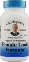 Christopher's Female Tonic Formula Vegetarian Caps 450mg