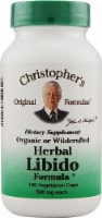 Christopher's Herbal Libido Formula Vegetarian Capsules 500 mg
