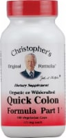 Christopher's Quick Colon Formula Part 1 Vegetarian Capsules 475mg