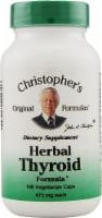 Christopher's Herbal Thyroid Formula Vegetarian Capsules 475mg