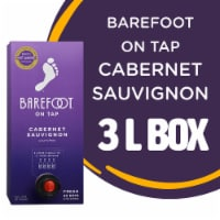 Barefoot On Tap Cabernet Sauvignon Boxed Red Wine