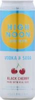 High Noon Sun Sips Black Cherry Vodka & Soda - 12 fl oz