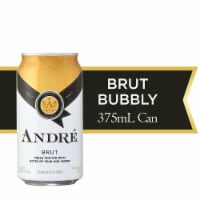 Andre Brut Bubbly Wine Single Serve 375ml Can
