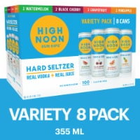 High Noon Vodka Hard Seltzer Mixed 8 Pack Single Serve 355ml Cans