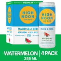 High Noon Watermelon Vodka & Soda Spiked Seltzer