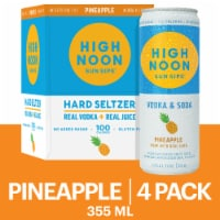 High Noon Sun Sips Pineapple Vodka & Soda Hard Seltzer