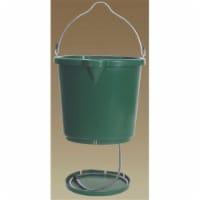 Farm Innovators Oversized 5 Gallon Plastic Flat Back Heated Bucket, 120 Watt - 1 Piece