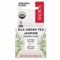 Radius 235194 33 yards Dental Floss Green Tea Jasmine Organic Silk - 1