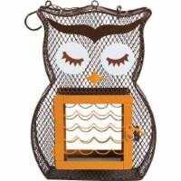 Heath Owl Dual Feeder
