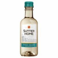 Sutter Home® Pinot Grigio White Wine 187mL Wine Bottles (4 Pack) - 4 bottles / 6.3 oz