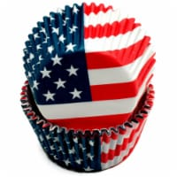 DDI 2329147 Chef Craft USA Flag Baking Cups - 50 Count Case of 108