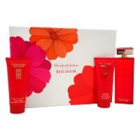 Elizabeth Arden Red Door 3.3oz EDT Spray, 3.3oz Body Lotion, 3.3oz Bath & Shower Gel 3 Pc Gif
