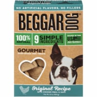 Beggar Original Recipe Chicken Meal & Oats Oven-Baked Dog Treats