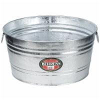 Behrens 9 gal. Steel Tub Round - Case Of: 1;