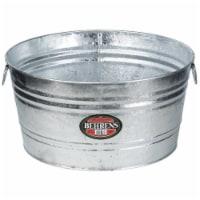 Behrens 17 gal. Steel Tub Round - Case Of: 1;