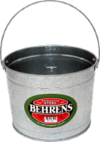 Behrens Galvanized Steel Paint Pail - 5 Quart