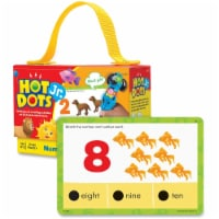Educational Insights Hot Dots Jr Cards Numbers Counting