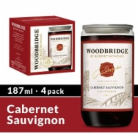Woodbridge® By Robert Mondavi Cabernet Sauvignon Red Wine - 4 bottles / 187 mL