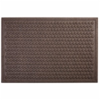 Mohawk Home Dots Impressions Needle Punch Doormat - Chocolate