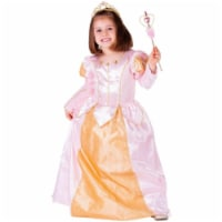 Dress Up America 760-L Pink Belle Ball Gown, Large - Age 12 to 14