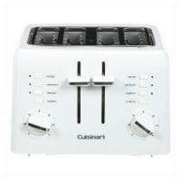 Cuisinart CPT-142P1 4-Slice Compact Plastic Toaster, White