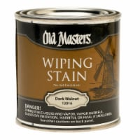 Old Masters Semi-Transparent Dark Walnut Oil-Based Wiping Stain 0.5 pt. - Case Of: 6; - Case of: 6